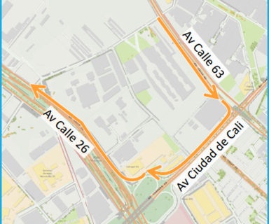 A partir del 18 de junio la transversal 93 será en un solo sentido hacia el norte